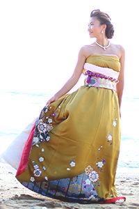 オリエンタル和装 着物 和風 ドレス 北海道 札幌