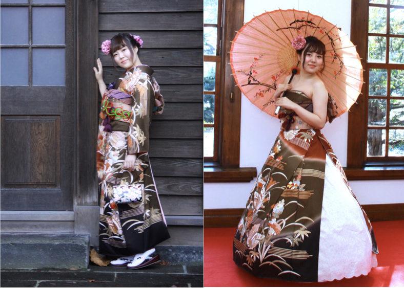 オリエンタル和装 着物ドレス 北海道 札幌
