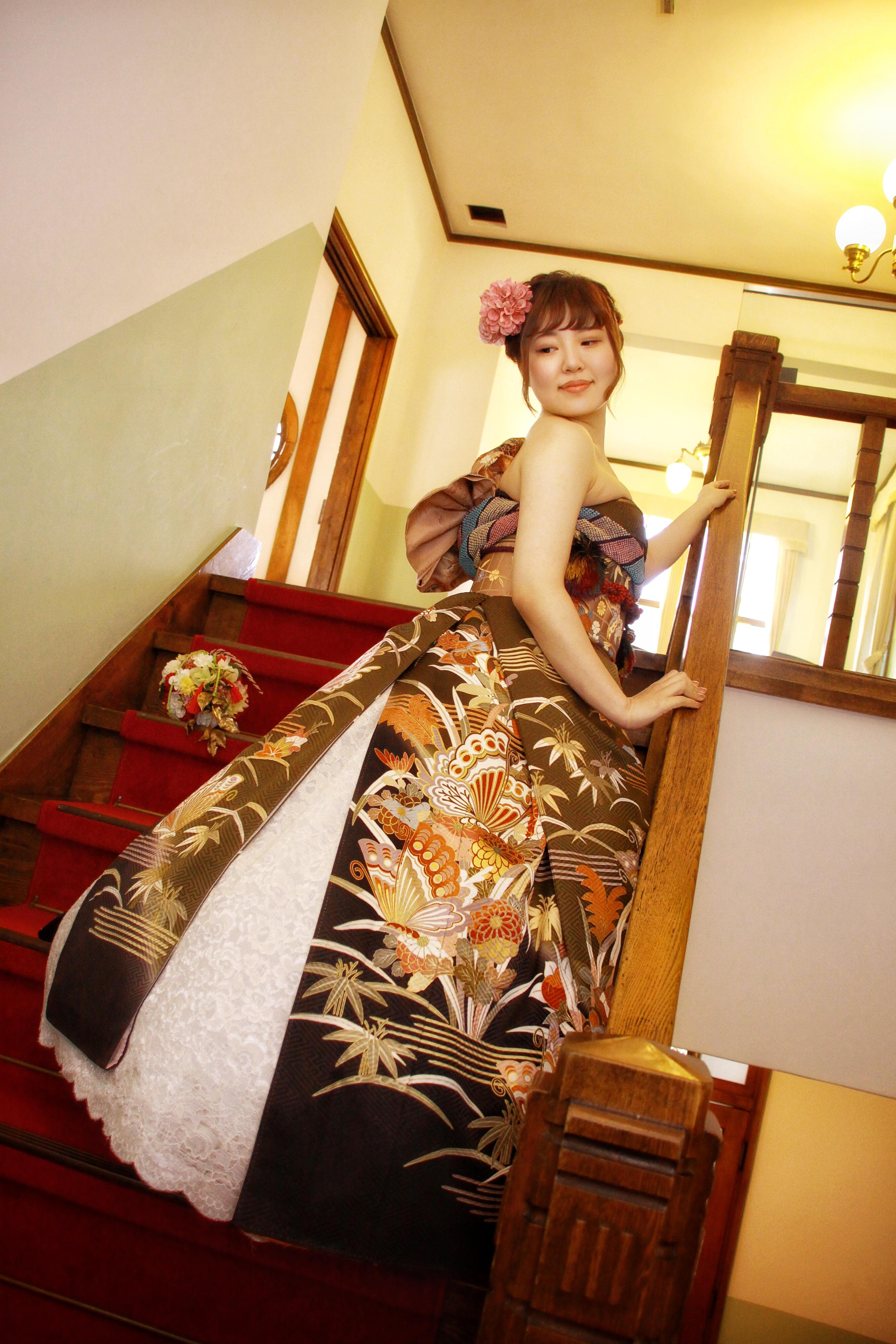 オリエンタル和装 着物をドレス風に着る 北海道 札幌