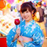 札幌夏祭り 浴衣 着付 ヘアアレンジ