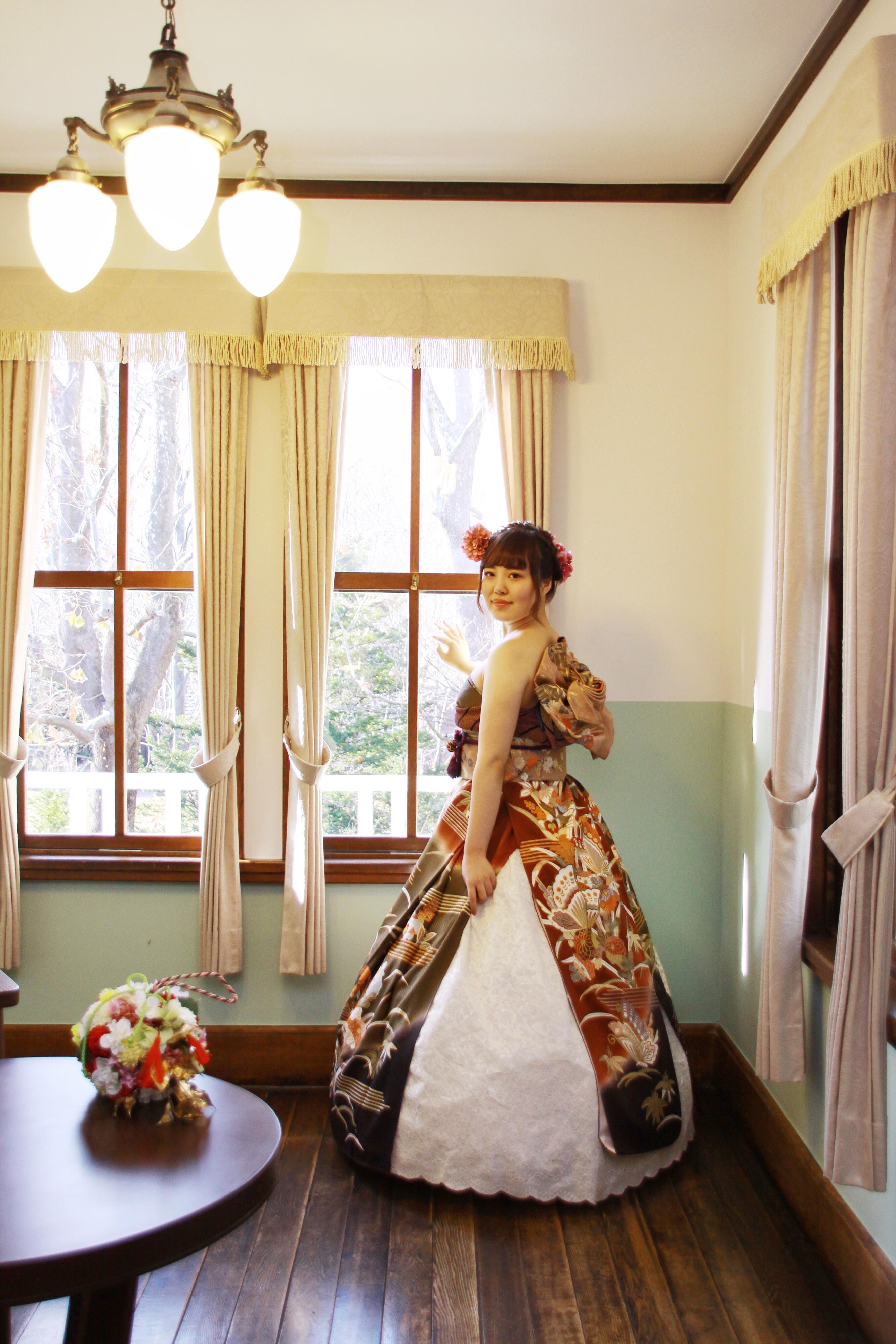 オリエンタル和装 写真撮影 札幌