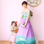オリエンタル和装 親子 写真撮影
