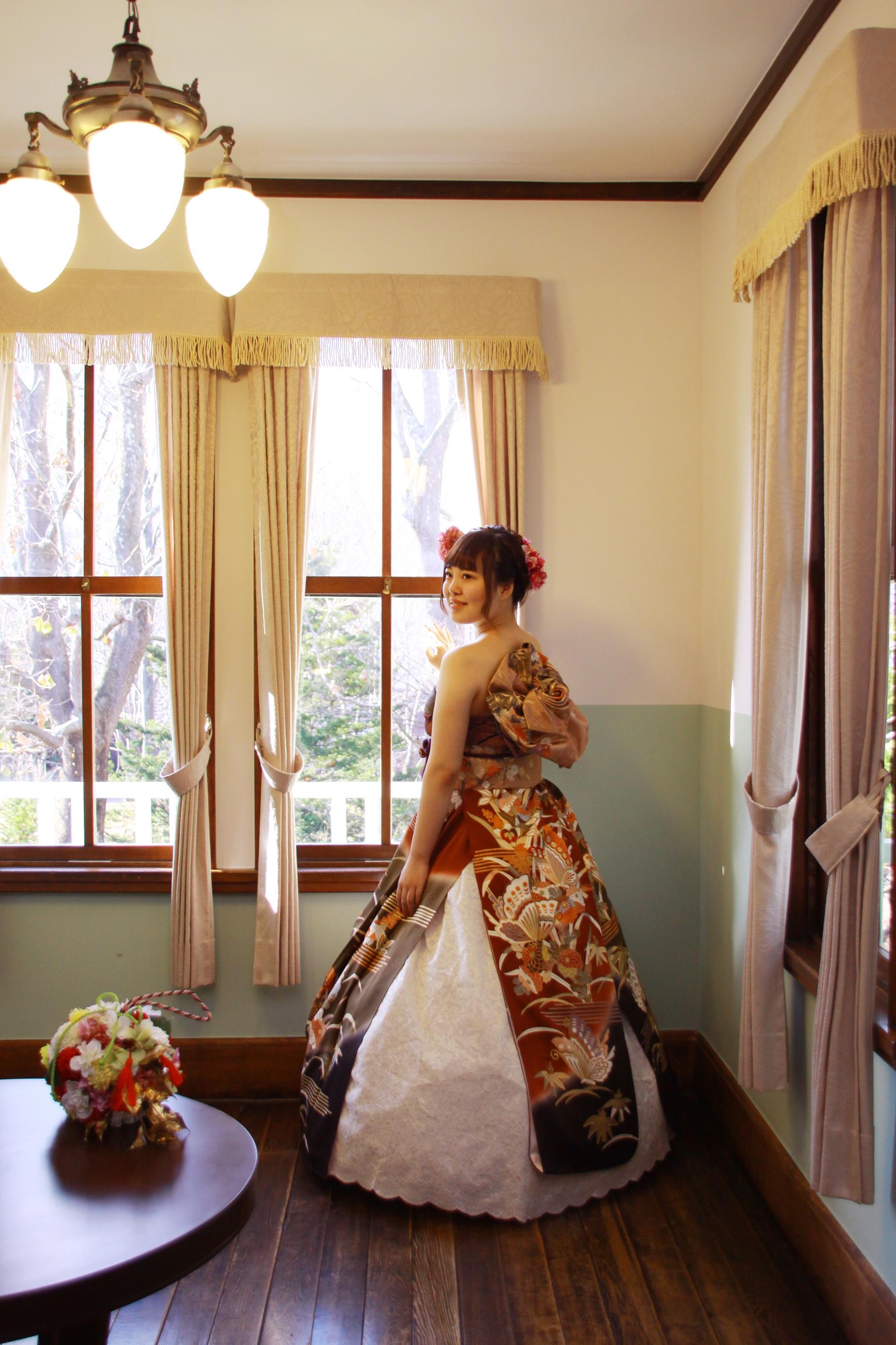 お姫様体験 オリエンタル和装 旧永山邸